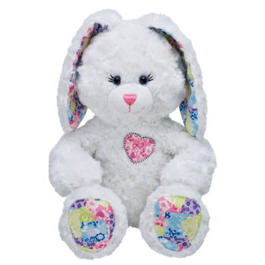17 in. Patchwork Bunny