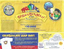 2008 February Calendar (Side 2)
