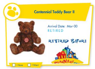 Centennial Teddy Bear II