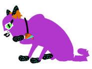 Spook the kooky spooky kitty!!!! lg