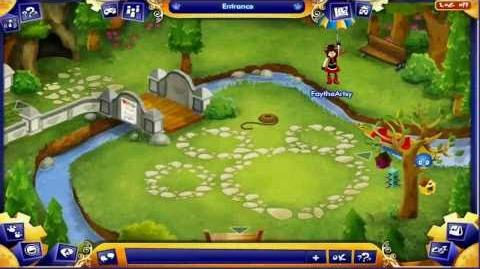 Bearville - Yew Yew The Greenzy's Panda Bamboo Hunt Quest