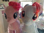 Buildabear ponies by orangestrudel-d60a59h