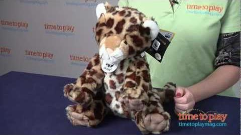 WWF Amur Leopard from Build-A-Bear Workshop