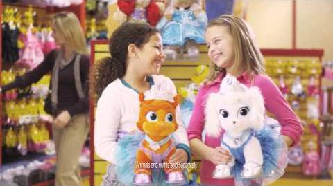 Disney Palace Pets at Build-A-Bear Workshop