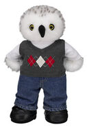 Turner Owl Argyle Vest 175