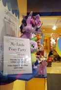 Twilight and Spike in Build-a-Bear Workshop