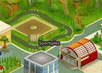 Sportsplex map