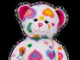 Colorful Hearts Bear
