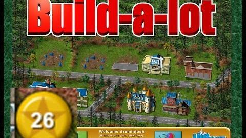 Build-a-lot Level 26 (Summit Ridge) Super Efficiency Playthough