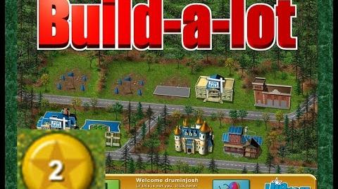 Build-a-lot Level 2 (Meadow Dale) Super Efficiency Playthough