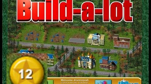 Build-a-lot Level 12 (Evergreen Park) Super Efficiency Playthough