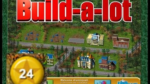 Build-a-lot Level 24 (Granite Springs) Super Efficiency Playthough