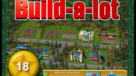 Build-a-lot Level 18 (Lakeside) Super Efficiency Playthough