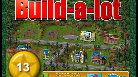 Build-a-lot Level 13 (Evergreen Park) Super Efficiency Playthough
