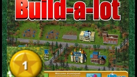Build-a-lot Level 1 (Meadow Dale) Super Efficiency Playthough