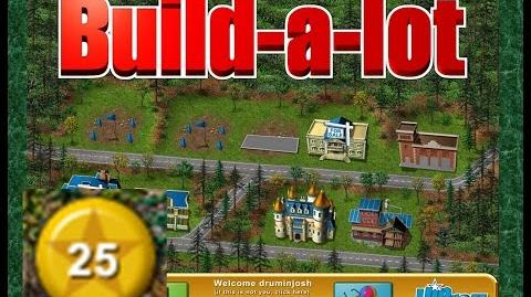 Build-a-lot Level 25 (Granite Springs) Super Efficiency Playthough