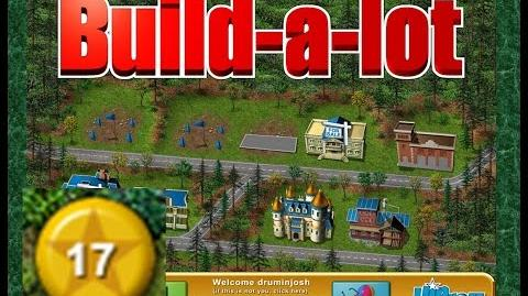 Build-a-lot Level 17 (Lakeside) Super Efficiency Playthough