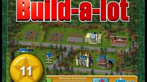 Build-a-lot Level 11 (Evergreen Park) Super Efficiency Playthough