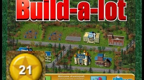 Build-a-lot Level 21 (Granite Springs) Super Efficiency Playthough