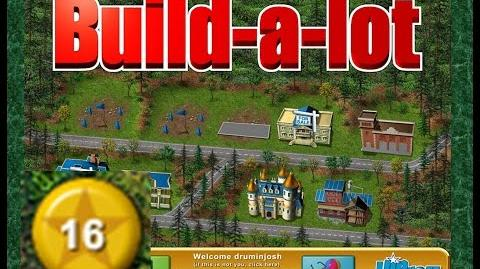 Build-a-lot Level 16 (Lakeside) Super Efficiency Playthough