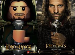Aragorn LEGO&ROTK