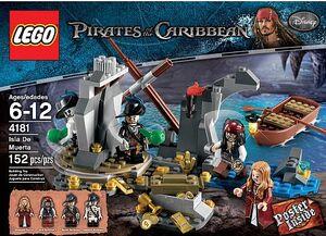 Lego 4181 islademuerta front