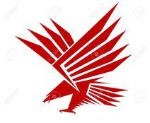 25157415-Red-falcon-for-mascot-or-tattoo-design-Stock-Vector-falcon-eagle