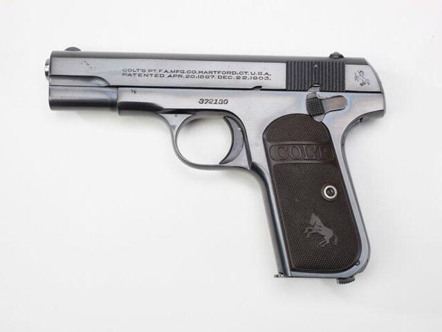 File:Douglas-MacArthurs-Colt-Model-1903-Semi-Automatic-Pistol-1-661x496.jpg