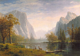 Bierstadt yosemite valley