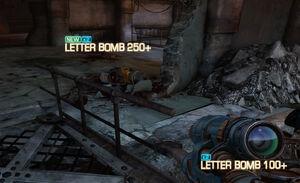 Letterbomb