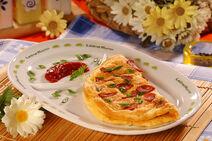 Omlet z kielbasa