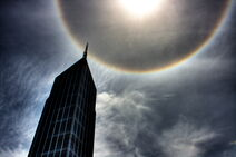 Halo or Ring around the Sun - Melbourne 2009