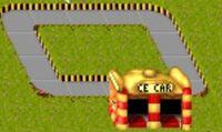 Theme park Race Car Ride