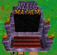 Theme Park World Aztec Mayhem