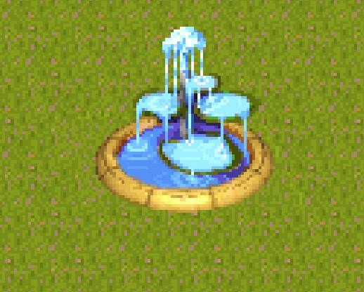 Theme Park Fountain