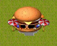 Theme Park Big Time Burger