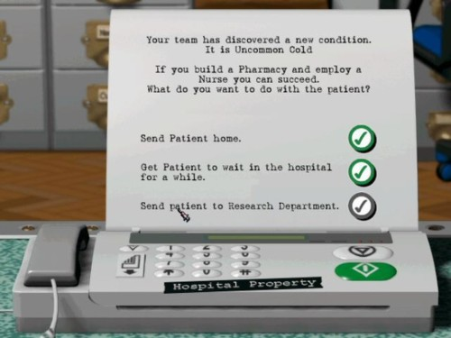 Theme Hospital cheats | Bullfrog Productions Wiki | FANDOM powered