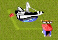 Theme park Space Shuttle