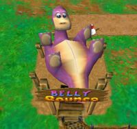 Theme Park World Belly Bounce