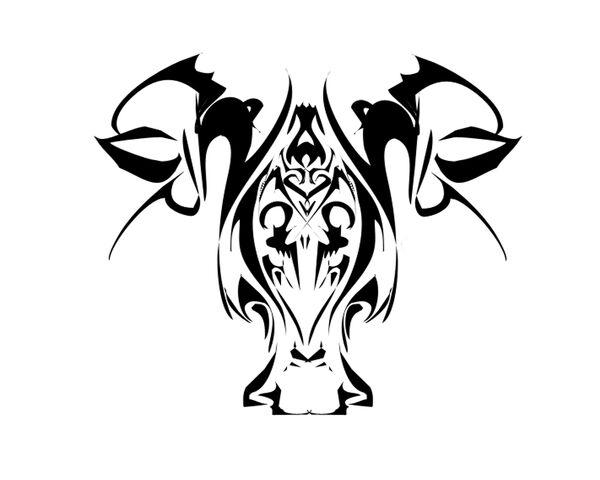 File:Darkened skull of a bull by ChronoPhoenix.jpg