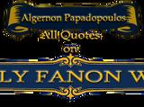 Algernon Papadopoulos/Quotes