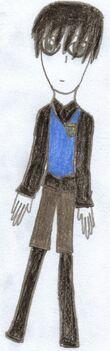 Raven schoolboy