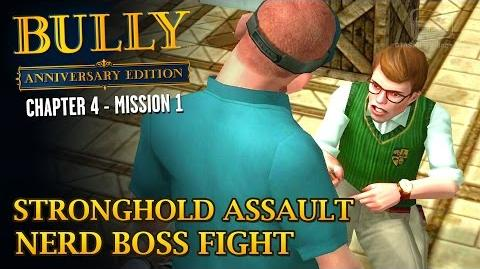 Bully Anniversary Edition - Mission 44 - Stronghold Assault Nerd Boss Fight