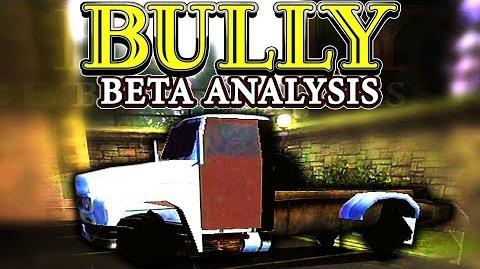 BULLY - Removed Tow Truck (Analysis)