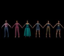 Pinky various models