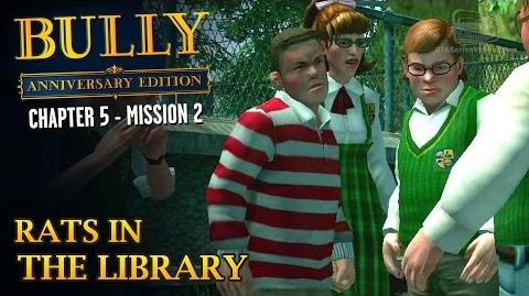 Bully Anniversary Edition - Mission 54 - Rats in the Library