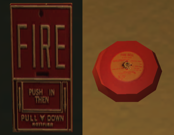 Fire Alarm Box And Its Alarm Bell