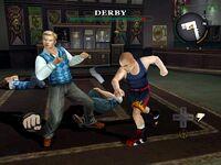 Derby boss fight