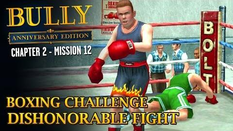 Bully Anniversary Edition - Mission 26 - Boxing Challenge Dishonorable Fight
