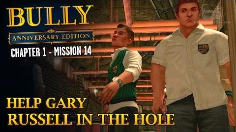 Bully Anniversary Edition - Mission 14 - Help Gary Russell in the Hole